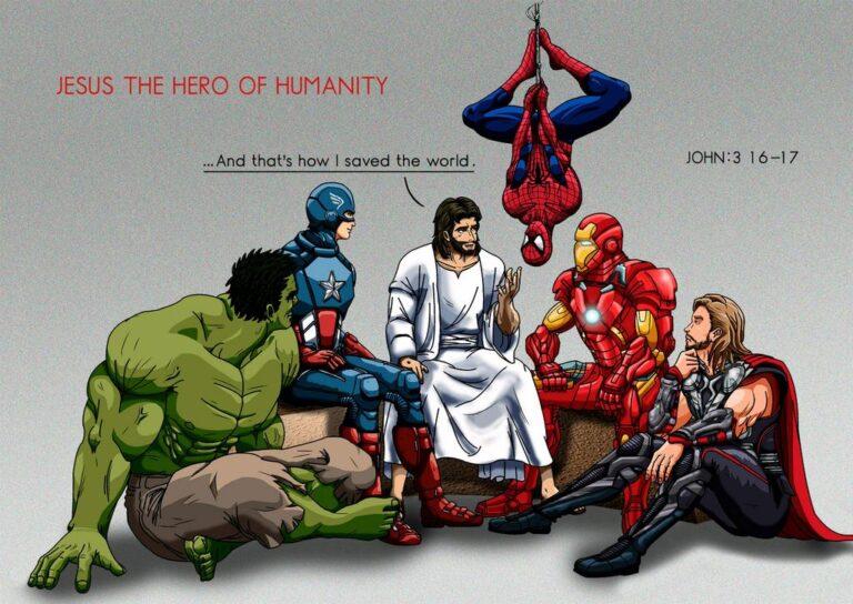 Jesus and the Superhero's