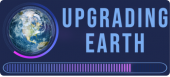 Upgrading Earth Logo